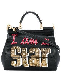 сумка-тоут Sicily I Am A Star Dolce & Gabbana