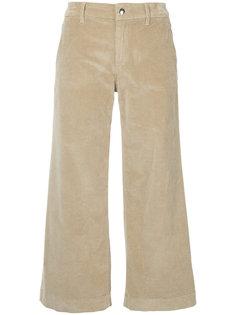 укороченные бархатные брюки  The Seafarer