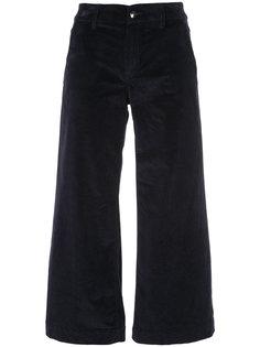широкие бархатные брюки  The Seafarer