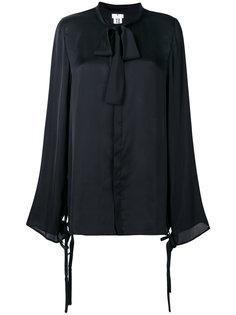 блузка с завязкой на мягкий бант  Comme Des Garçons Noir Kei Ninomiya