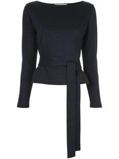 блузка по фигуре с поясом Estnation