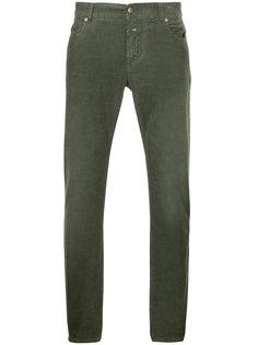 вельветовые брюки скинни  Closed