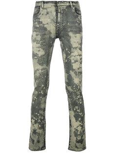 джинсы скинни с эффектом краски Faith Connexion