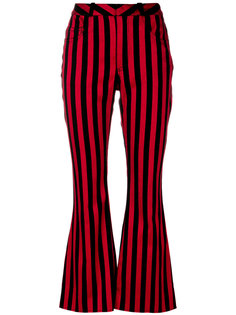 полосатые брюки клеш Marquesalmeida