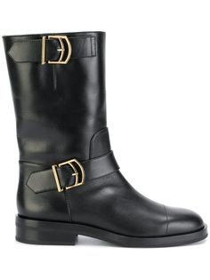 ботинки с ремешками Jil Sander
