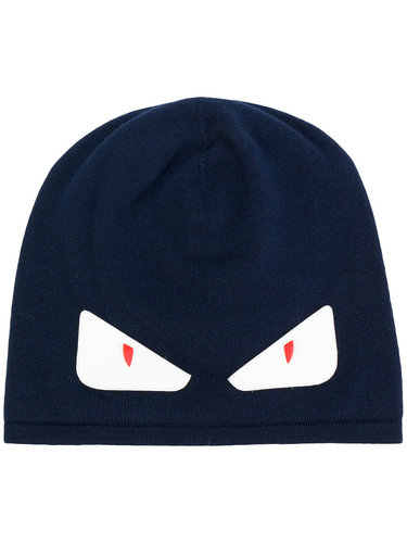вязаная шапка 'Bad Bugs' Fendi