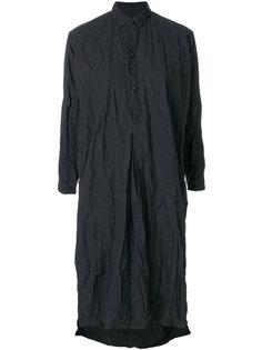 платье-рубашка с эффектом помятости Daniela Gregis