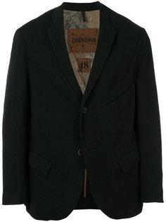 классический пиджак Ziggy Chen