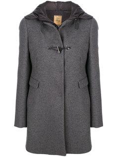 пальто миди с капюшоном  Fay