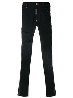 джинсы Antique  прямого кроя Philipp Plein
