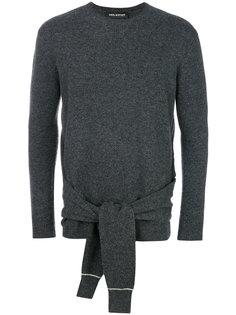 свитер с завязкой на поясе Neil Barrett