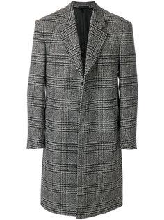 клетчатое пальто Epsom Paul Smith