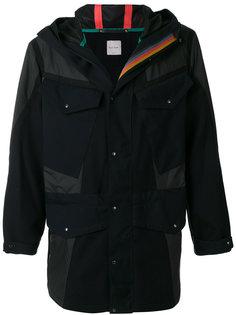 непромокаемое пальто с капюшоном Paul Smith