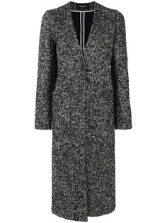 удлиненное пальто Rochas