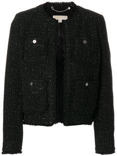 классический твидовый пиджак  Michael Michael Kors