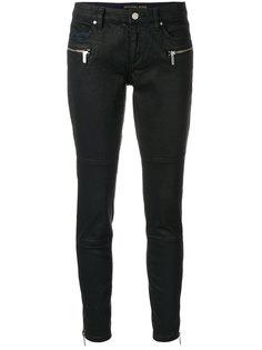 брюки скинни с карманами на молнии  Michael Michael Kors