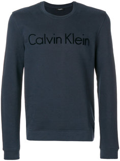 классический свитер с логотипом Calvin Klein