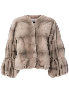 пальто с рукавами-колокол  Liska
