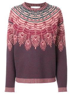 свитер вязки интарсия Giada Benincasa