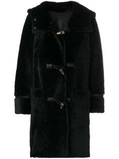 пальто с пуговицами тогл  Sylvie Schimmel