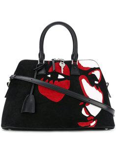 сумка-тоут с принтом лица Maison Margiela