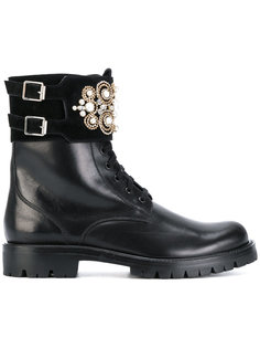 ботинки с аппликацией René Caovilla