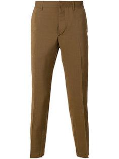 укороченные брюки строгого кроя Prada