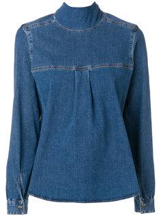 джинсовая блузка Semicouture
