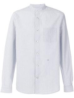 """полосатая рубашка с воротником """"стойка"""" Closed"""
