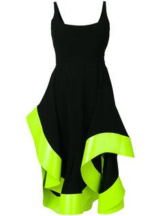 платье миди с открытой спиной Esteban Cortazar