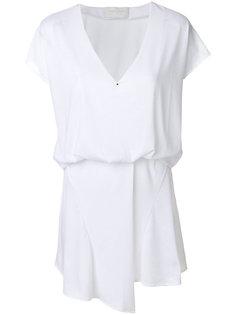 платье с V-образным вырезом  Esteban Cortazar