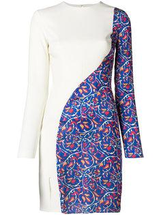 платье с контрастным дизайном Esteban Cortazar