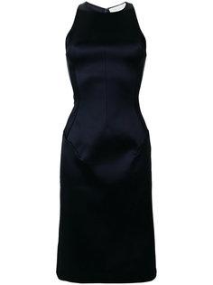 платье с вырезом-петлей халтер Esteban Cortazar