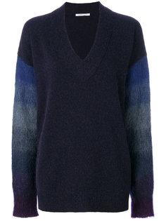 свитер с контрастными рукавами Agnona