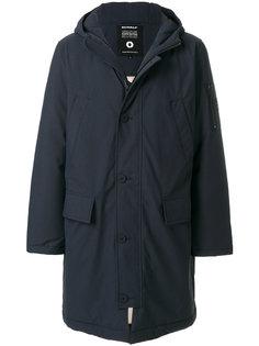пальто с капюшоном Ecoalf