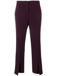 брюки с разрезами Versace