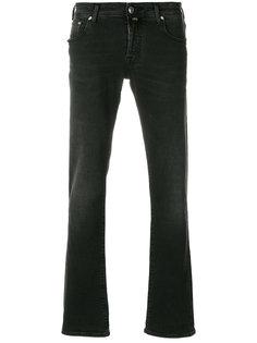 джинсы с потертым эффектом Jacob Cohen