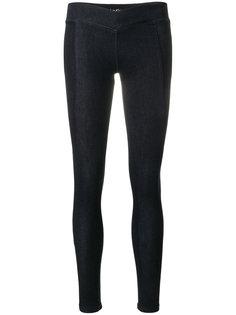 брюки скинни с логотипом сзади Calvin Klein