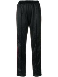 спортивные брюки с лентой сбоку Forte Couture