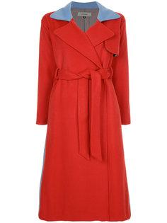 асимметричное пальто с поясом Han Ahn Soon