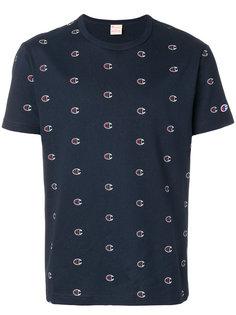 футболка с принтом-логотипом Champion