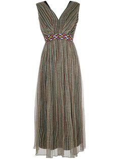 платье-миди с вышивкой Han Ahn Soon