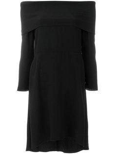 платье с открытыми плечами Theory