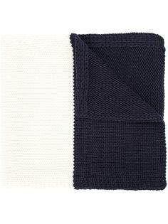 вязаный шарф в полоску Han Ahn Soon