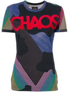 футболка с принтом Chaos Vivienne Westwood Anglomania