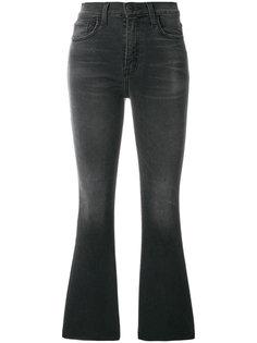 расклешенные укороченные джинсы с завышенной талией Current/Elliott