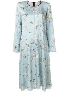 платье миди с цветочным принтом Forte Forte