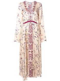 платье макси с цветочным принтом Forte Forte