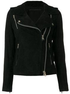 байкерская куртка с молниями  Munderingskompagniet