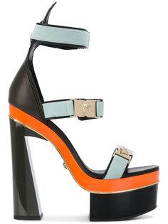 босоножки на платформе Versace